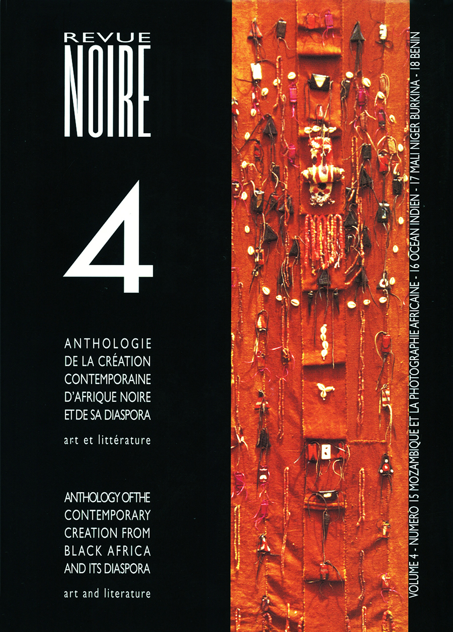 Book 'Anthologie Revue Noire Magazine Vol. 04' issues 15 to 18