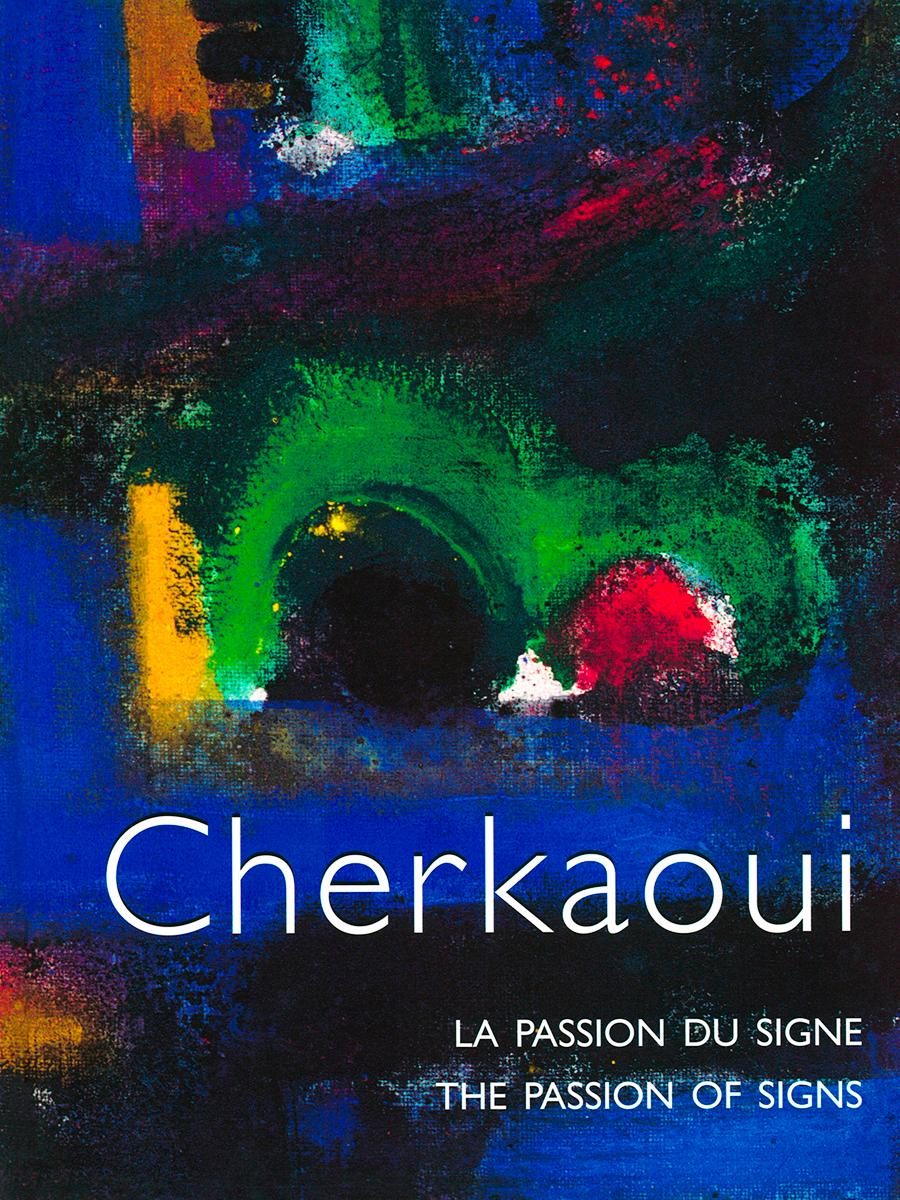 Livre 'Cherkaoui, La Passion du Signe', monographie, Revue Noire 1996