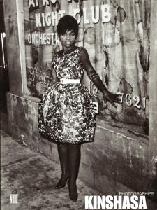 Photo Jean Depara, 'Jeune femme devant l'Afro Negro Club', Kinshasa, R.D.Congo vers 1955-1965
