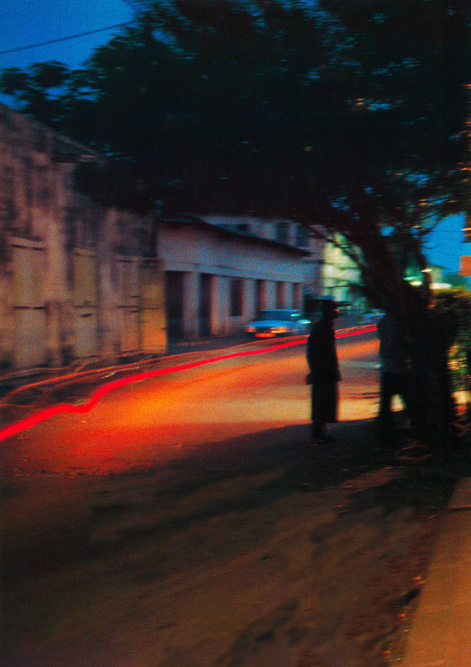 Dans la nuit de Grand-Bassam, près d'Abidjan, Côte d'Ivoire© photo Revue Noire