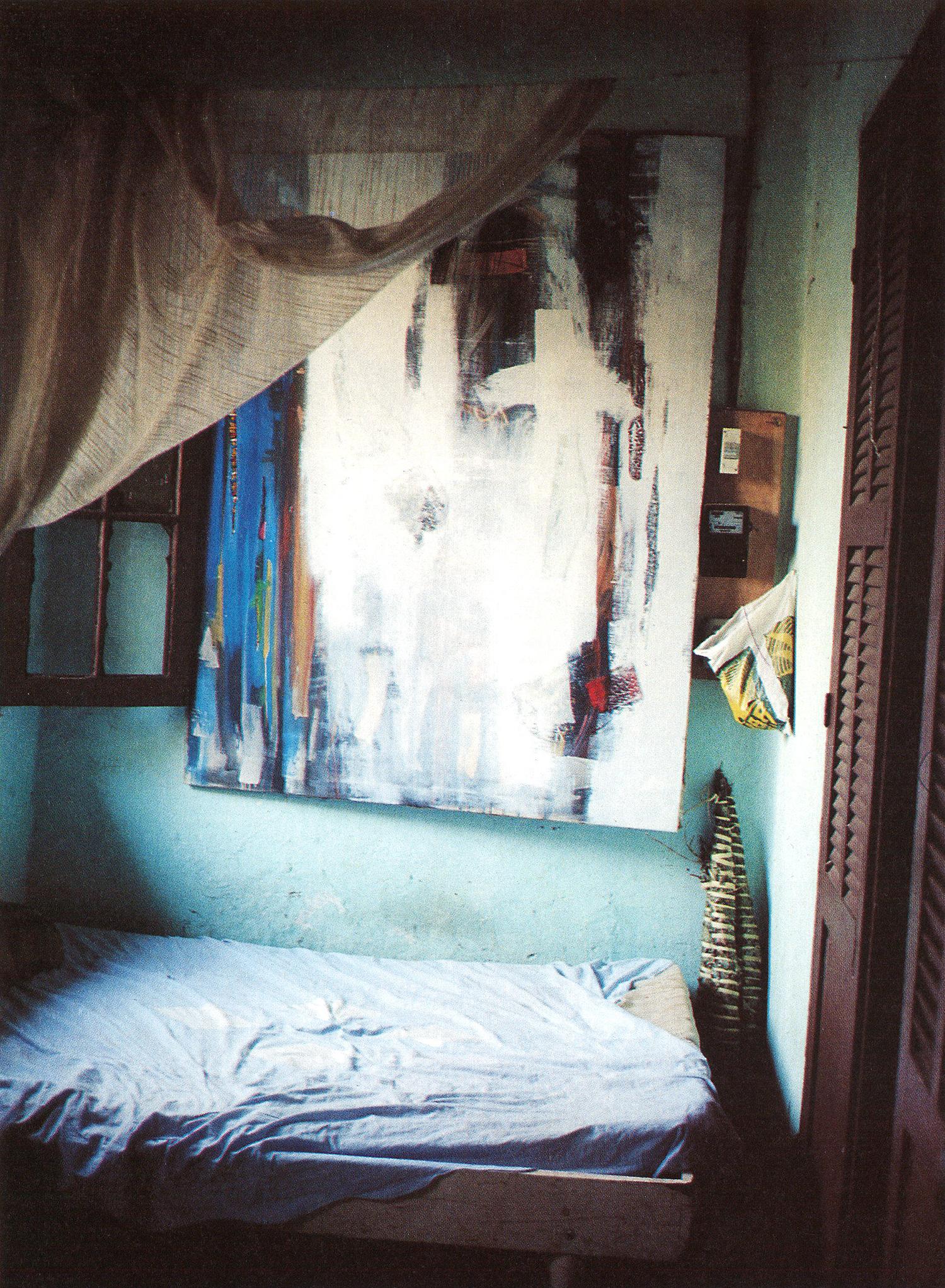 La chambre de l'artiste, Dakar, Sénégal© photoRevue Noire
