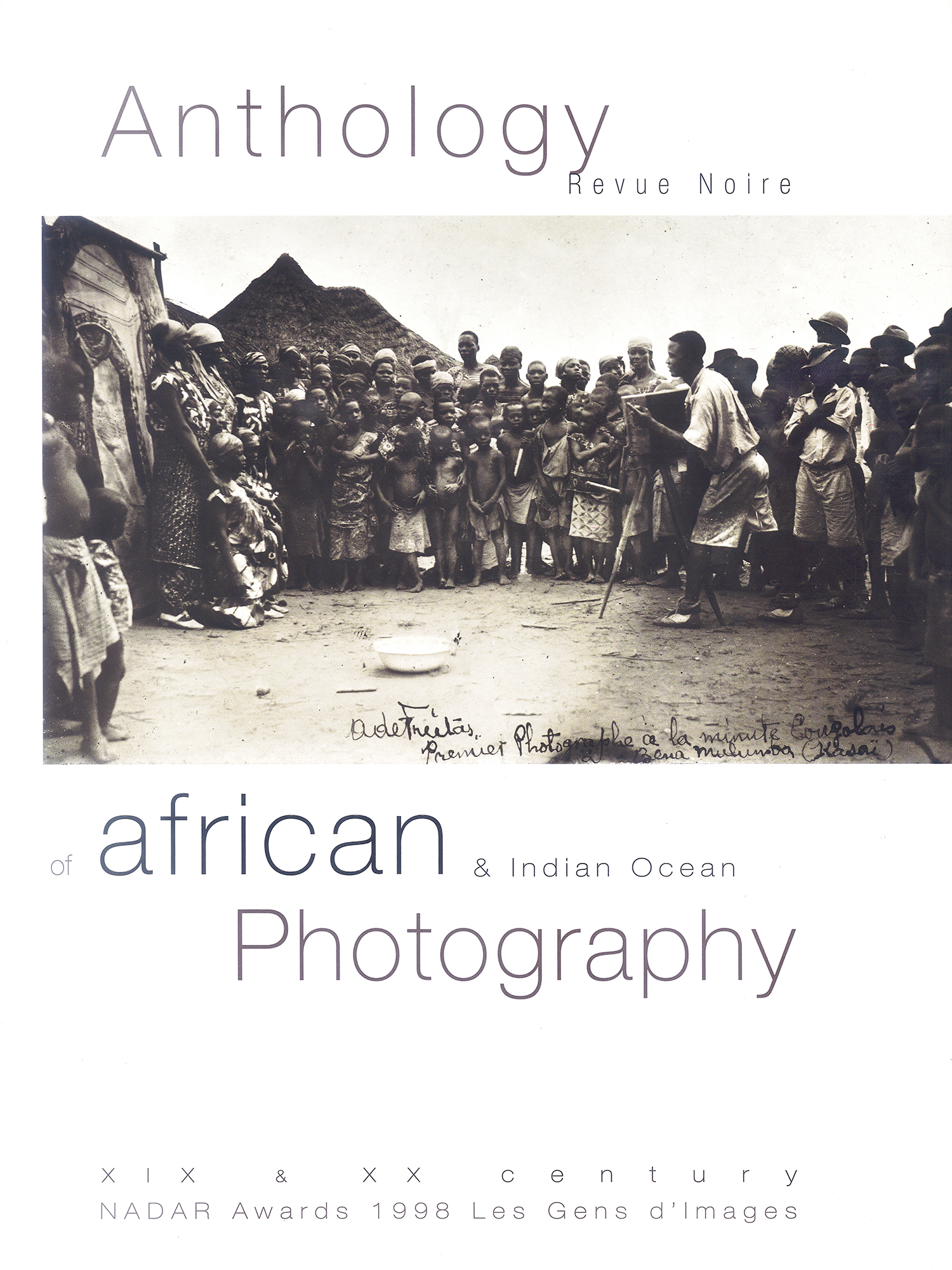 Book 'Anthology of African Photography', Revue Noire 1998