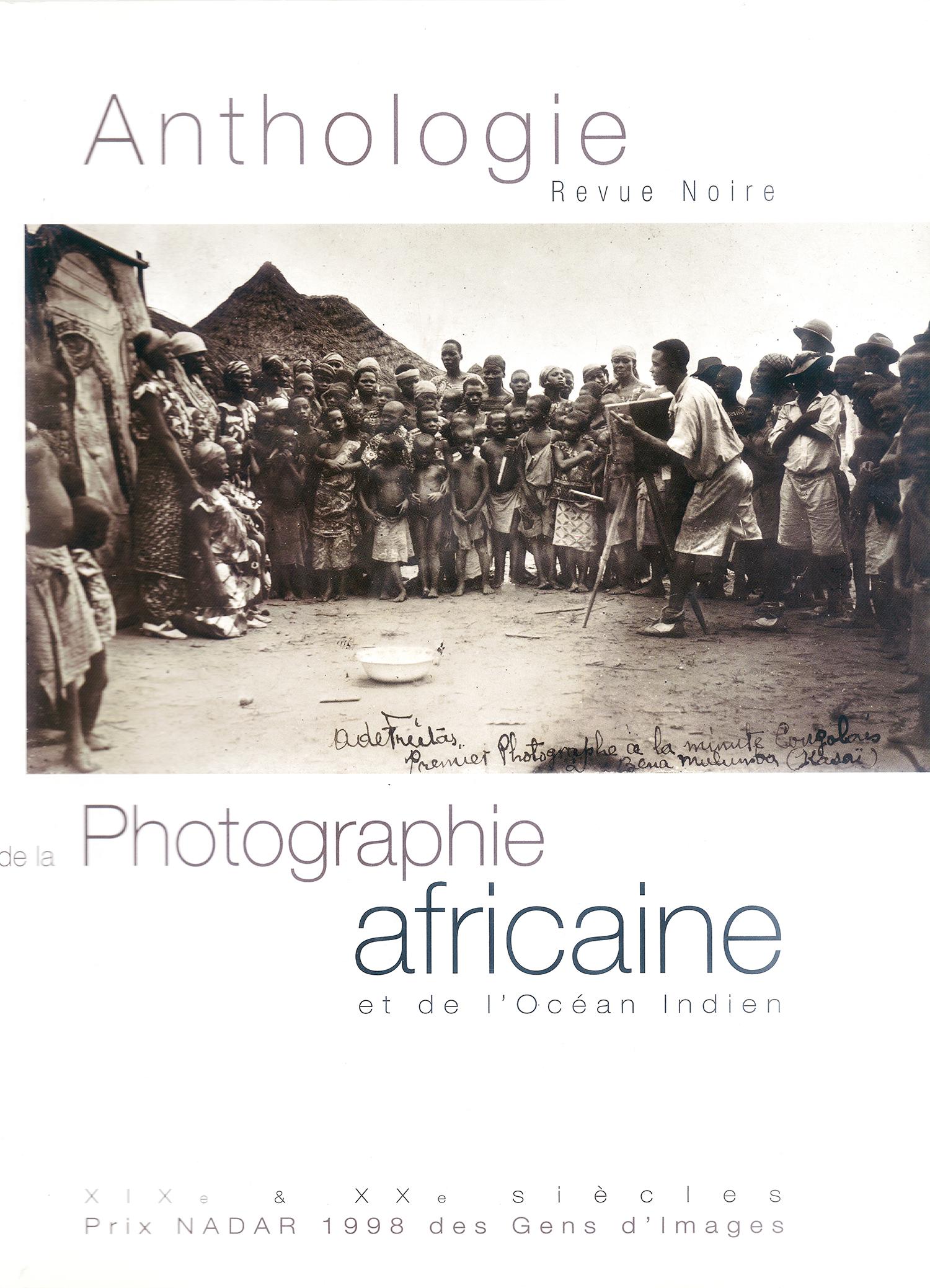 Livre 'Anthologie de la Photographie Africaine', Revue Noire 1998