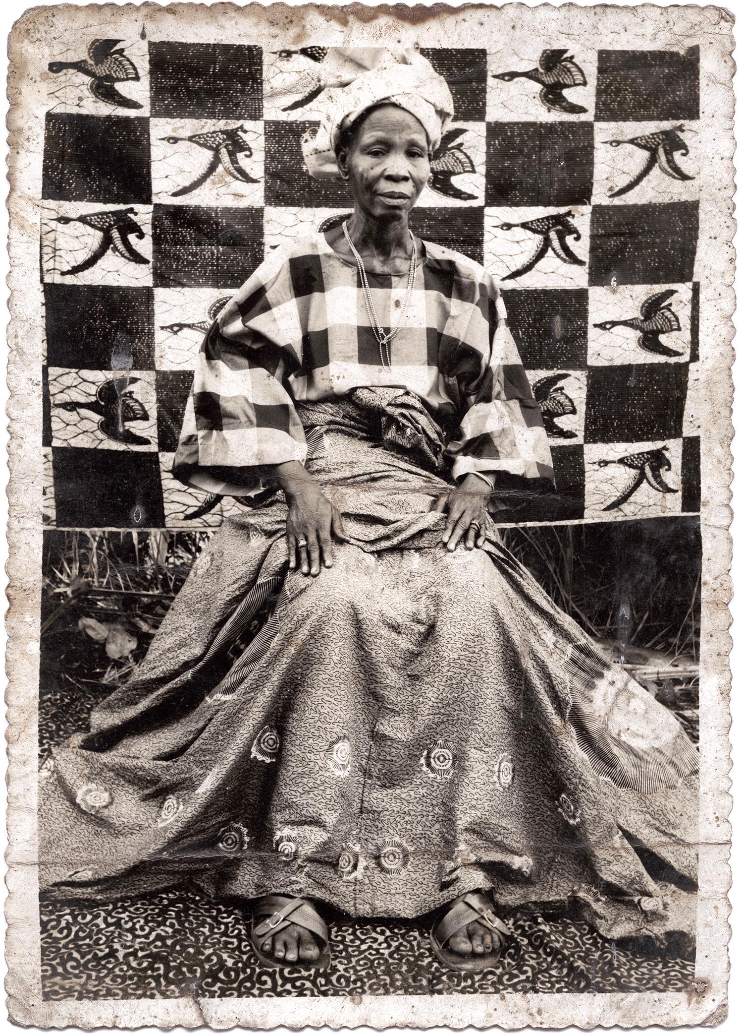 © photo Joseph Moïse Agbojelou, vintage, Porto Novo, Benin ca. 1960