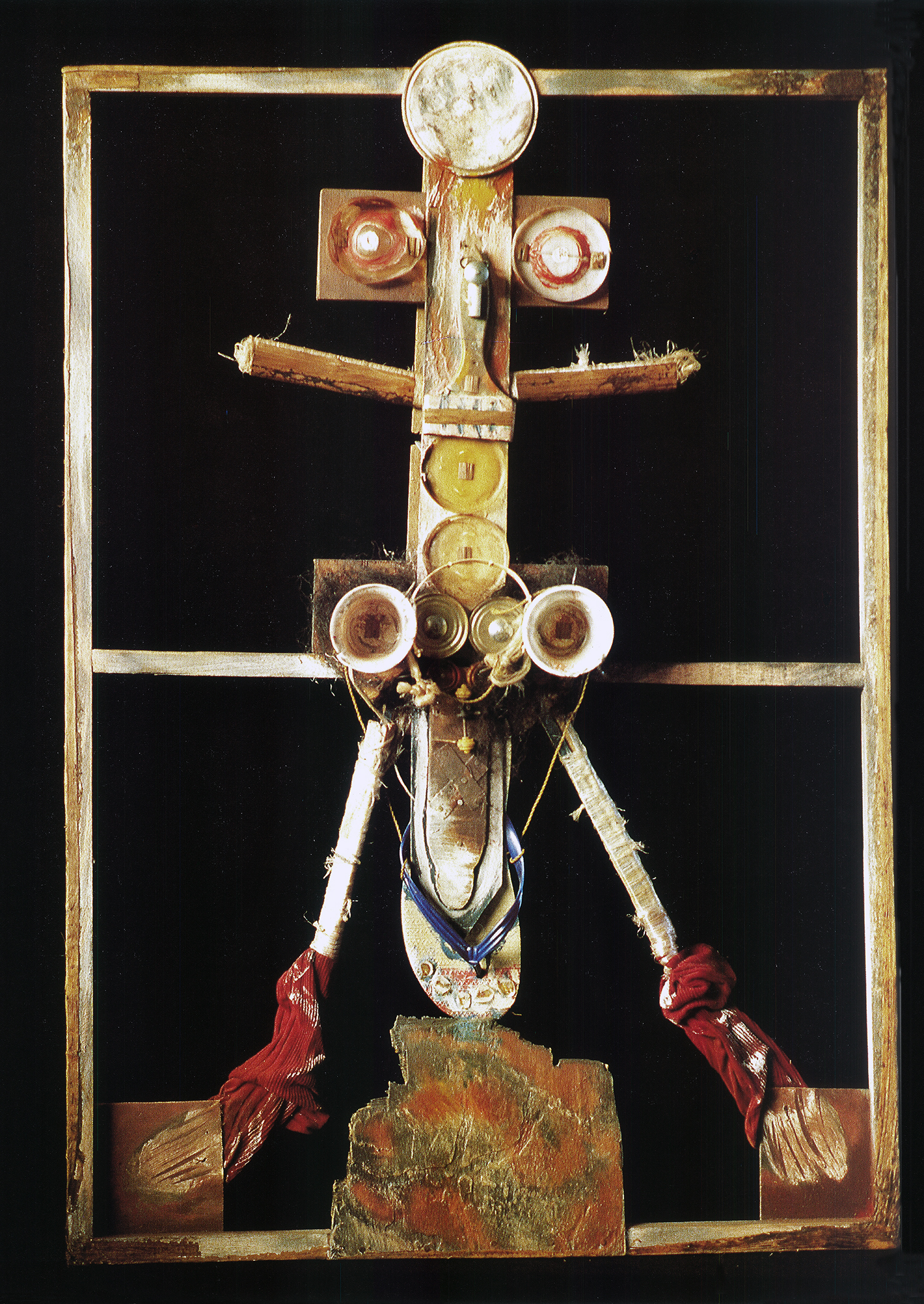Pascale Marthine Tayou, 'Fight against Aids IV', mix media, 1994