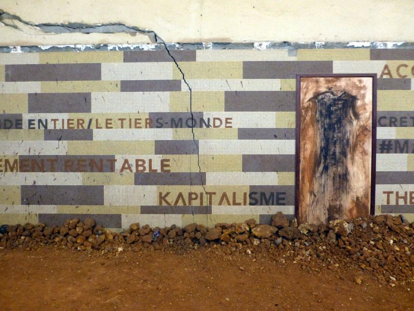 Bili Bidjocka, installation, Dak'Art 2016