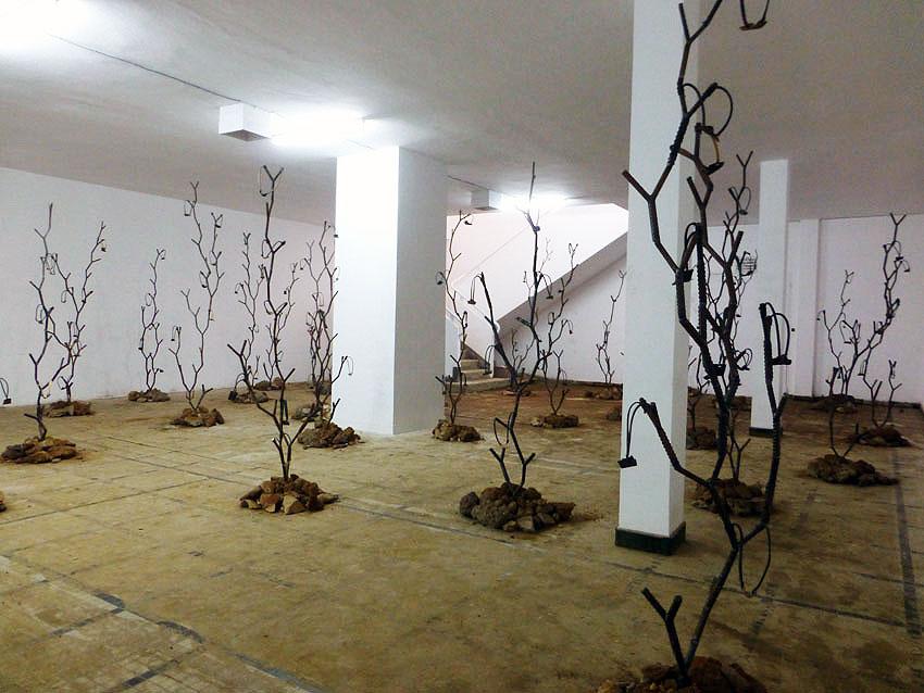 Kader Attia, installation, Dak'Art 2016