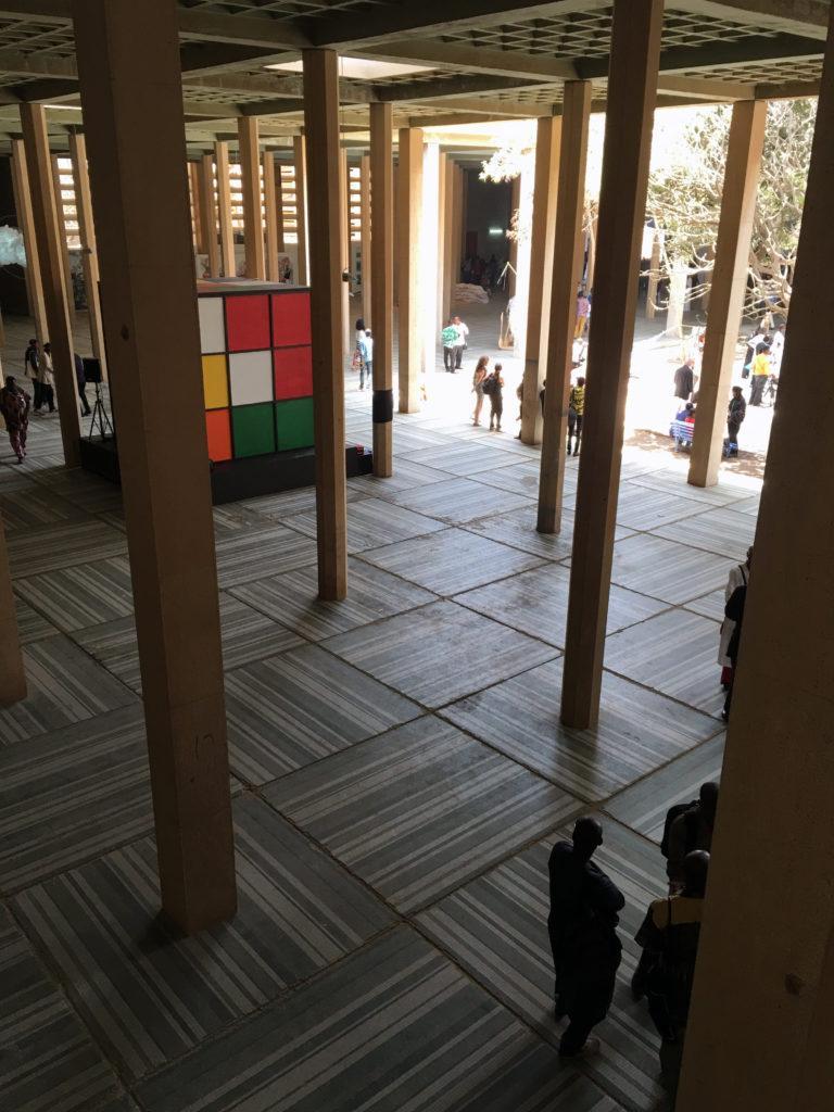 Hall du Palais de Justice, Dak'Art 2016
