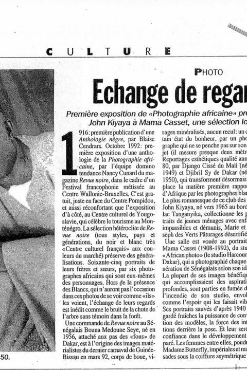 Libération – oct 1992