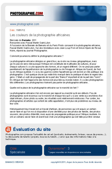Photographie.com – jan 2012