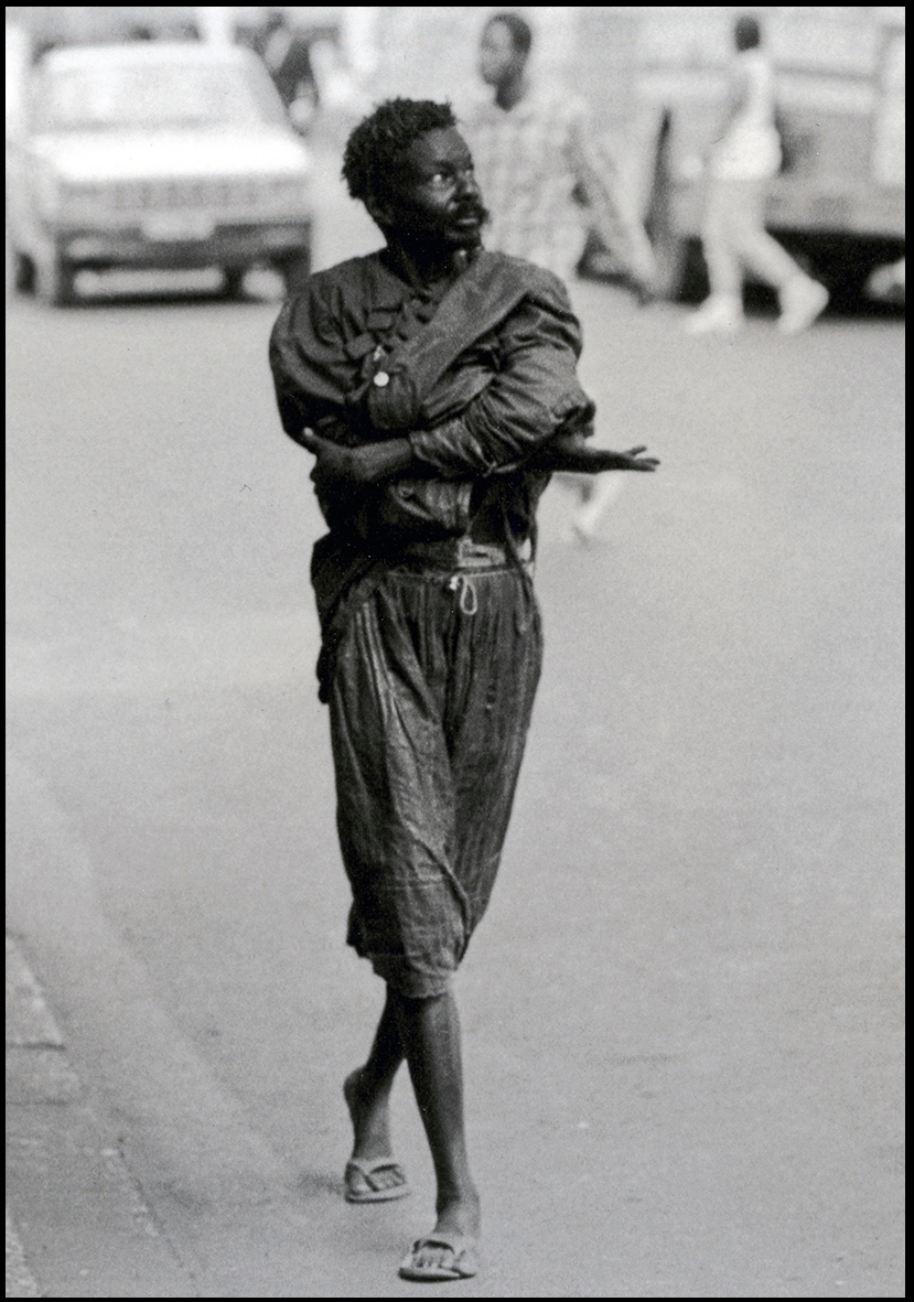 'Les Trottoirs de Dakar' © Photo Bouna Medoune Seye 1992
