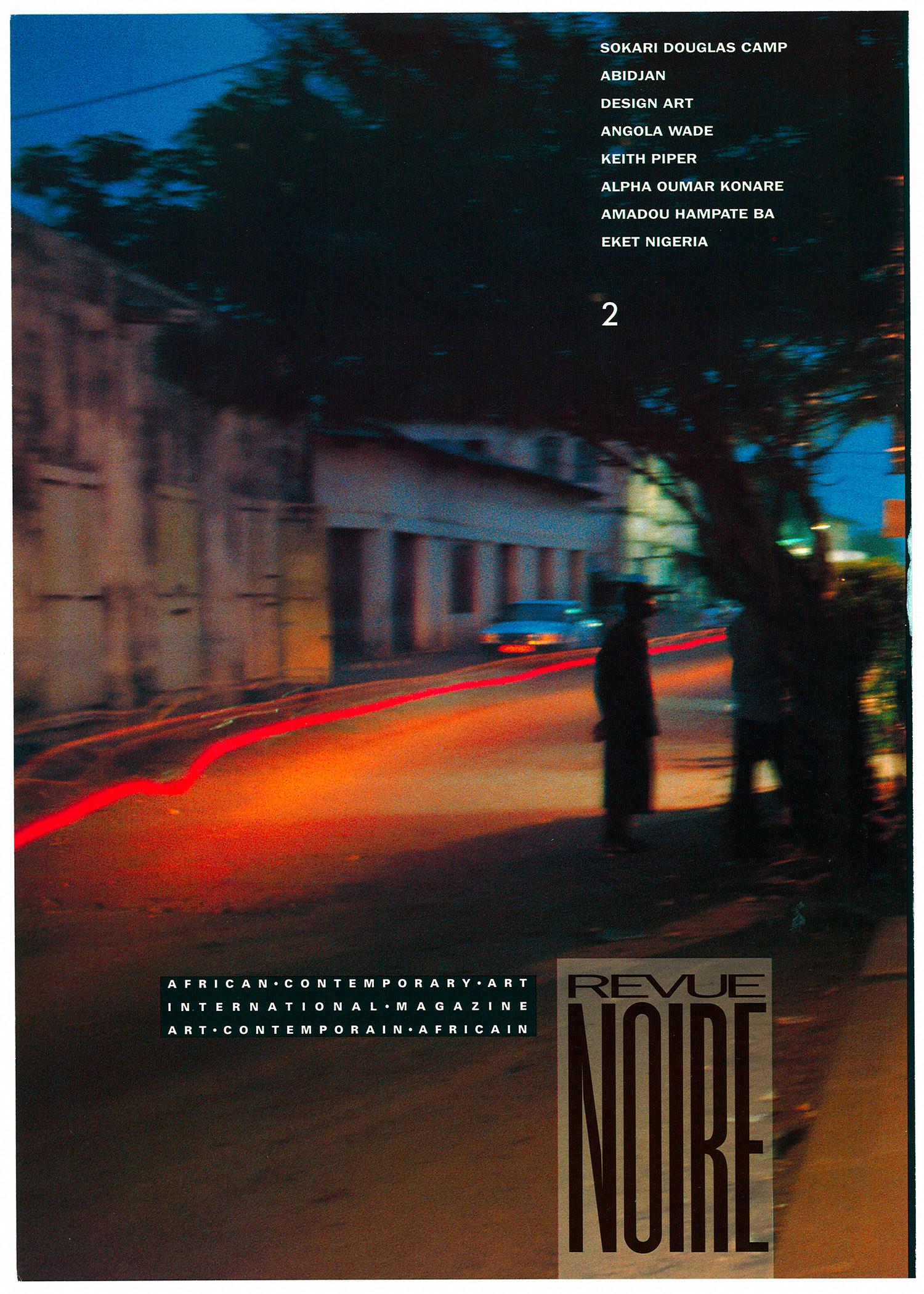 Pages du Revue Noire 02 : Abidjan, Sokary Douglas Camp, UK-Nigeria