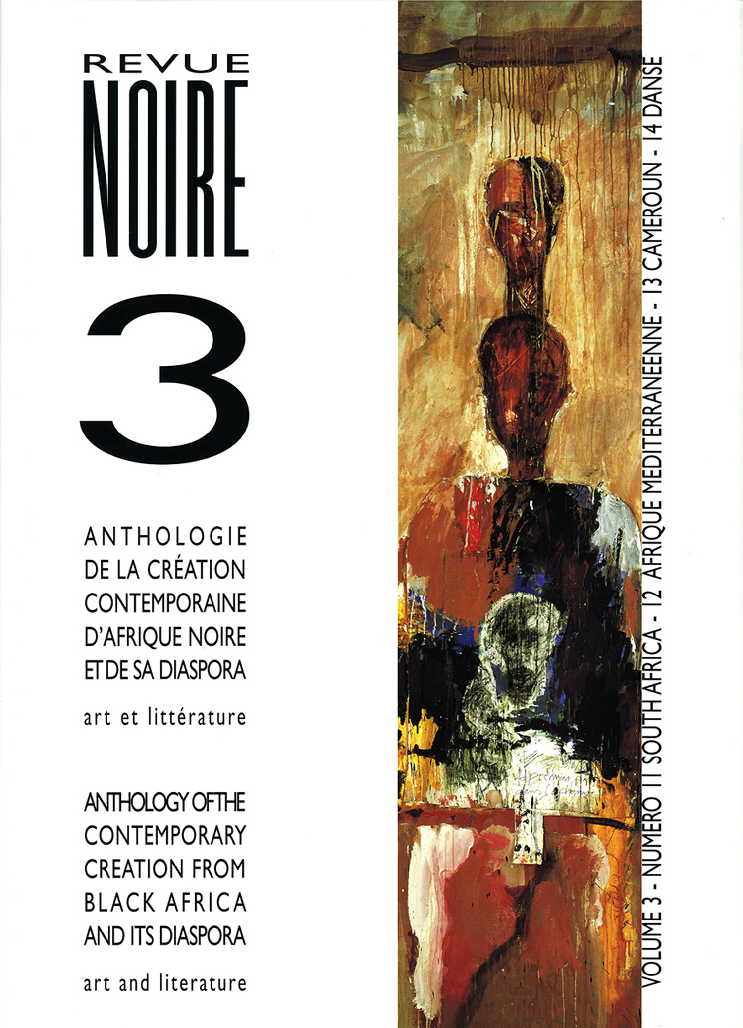 Book 'Anthology Revue Noire Magazine Vol. 03' issues 11 to 14