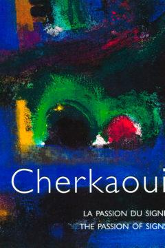 Book 'Cherkaoui, La Passion du Signe', monography, Revue Noire 1996
