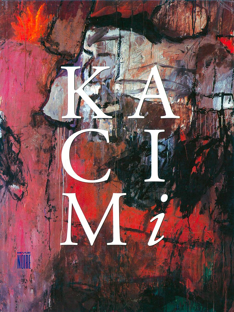 Livre 'Mohammed Kacimi', monographie, Revue Noire 1996