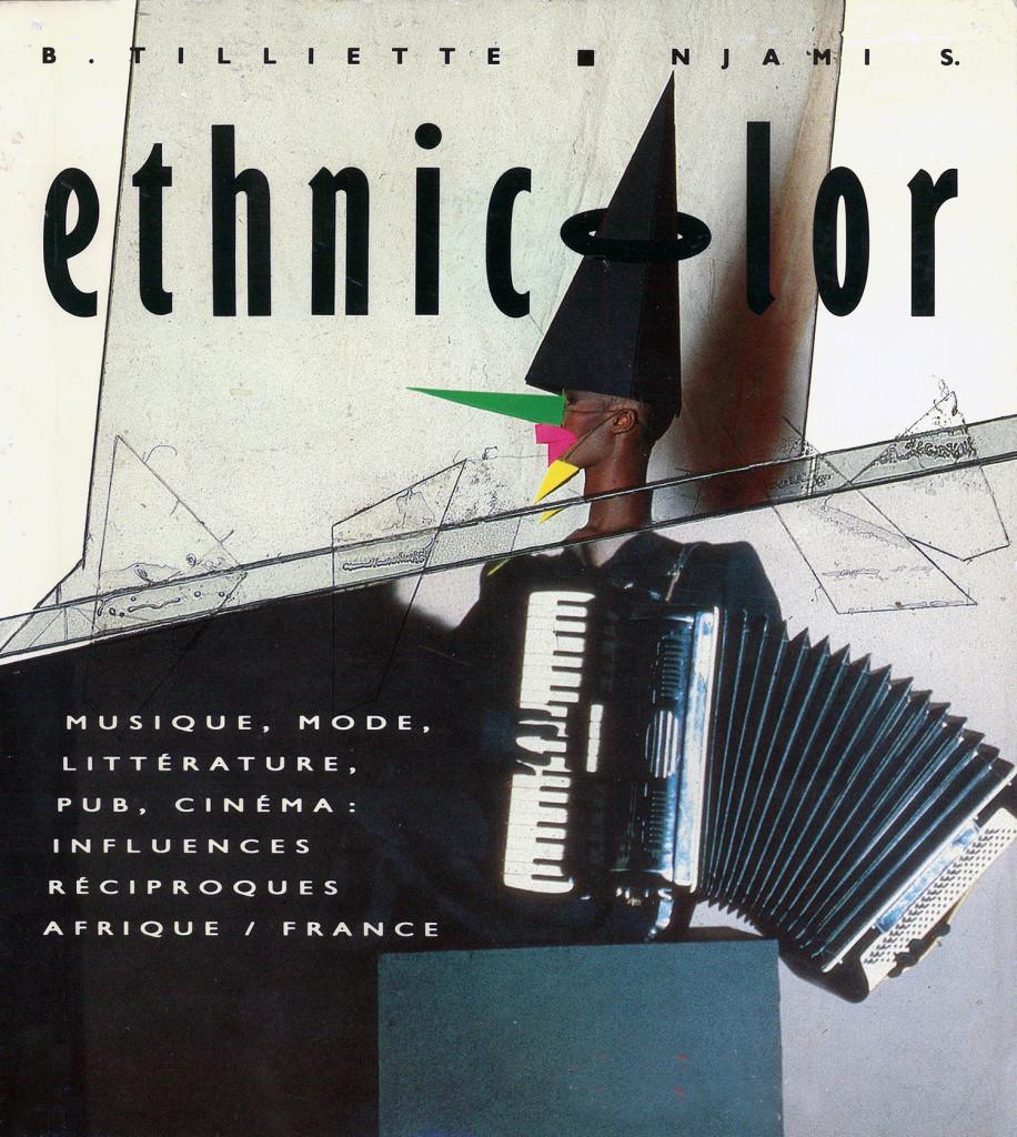 Couverture du catalogue de l'exposition Ethnicolor, Éditions Autrement © photo Jean-Paul Goude