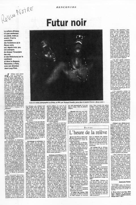 Le Monde – avr 1994