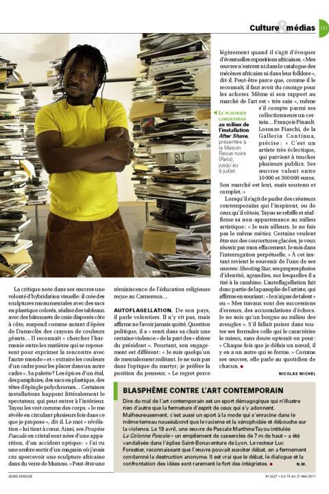 Jeune Afrique – May 2011
