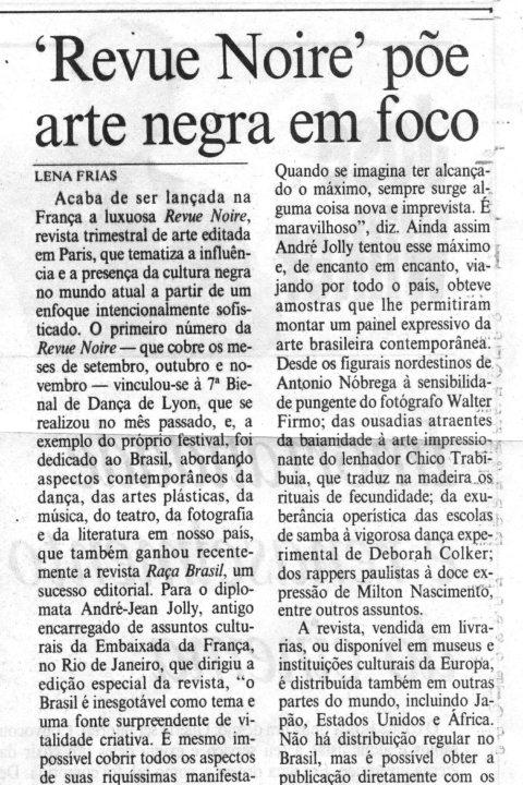 Jornal Do Brazil – Oct 1996