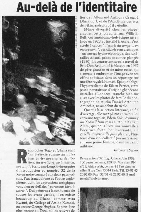 L'Autre Afrique – Aug 1999
