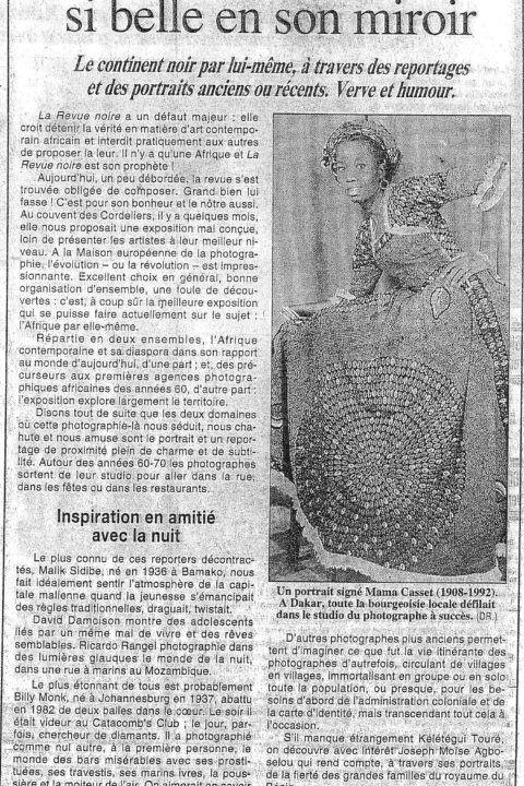Le Figaro – May 1998