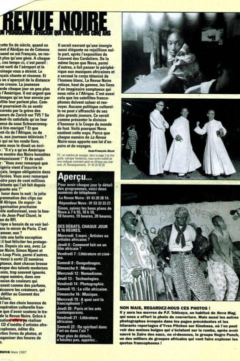 Nova Mag – mars 1997