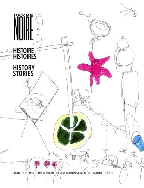 Book cover 'REVUE NOIRE – Histoire Histoires – History Stories'
