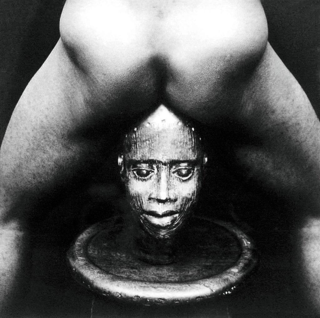 © Photo Rotimi Fani Kayodé, Bronze Head, 1989, argentique